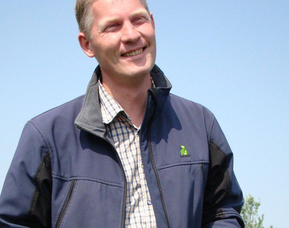 John Buijsman, crop specialist